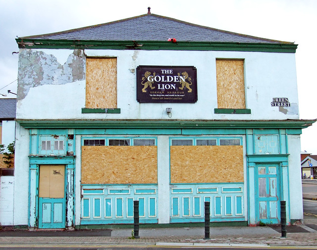 the golden lion roars no more