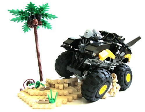 Even Batman likes to dune-buggy