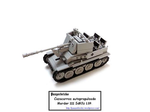 Marder III SdKfz 139 de Panzerbricks