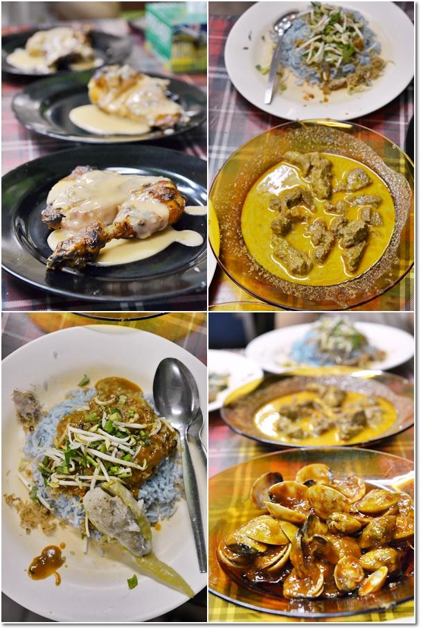 Ayam Percik, Nasi Kerabu, Gulai Kawah, Sambal Lala