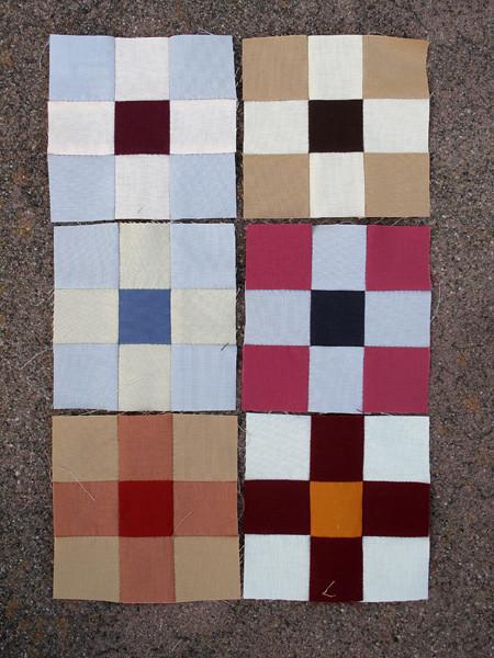 More Nine Patch Blocks
