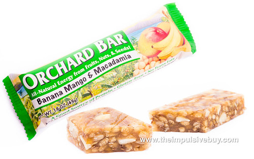 Liberty Orchards Orchard Bars Banana Mango & Macadamia