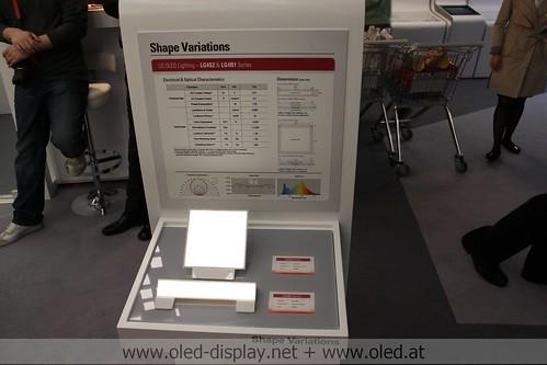 LG Chem OLED lighting at Light and building 2012 von erich_strasser bei Flickr