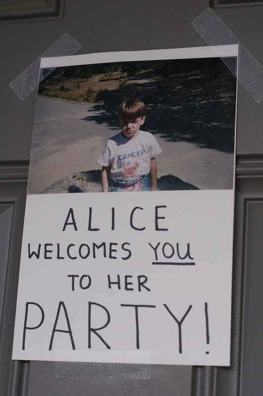 Alice welcomes you