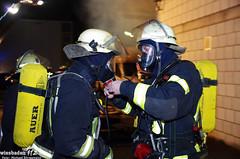 Großbrand durch Brandstiftung Kastel 06.04.12