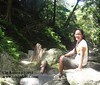 Cooling off at Kabigan Waterfalls