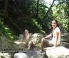 Cooling off at Kabigan Waterfalls