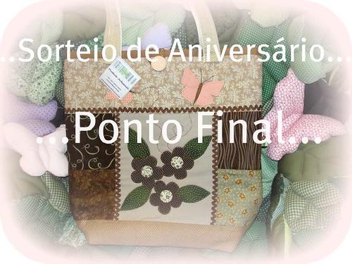 ...Como dia 12/abril é meu aniversário...E dia 13 completamos 3 anos de FLICKR, vamos fazer um sorteio... by Ponto Final - Patchwork