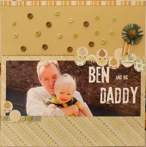 Ben and his daddy