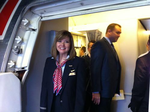 American Airlines Flight Attendant Kazumi Chapa