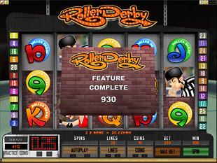 Roller Derby Bonus Feature