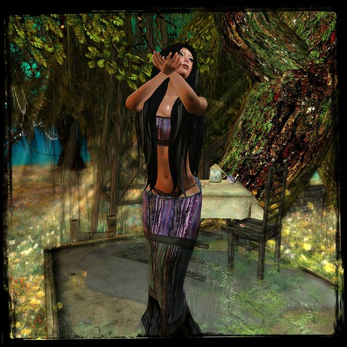 BB - The Gypsy Mesh Outfit ( with small top) by Cherokeeh Asteria