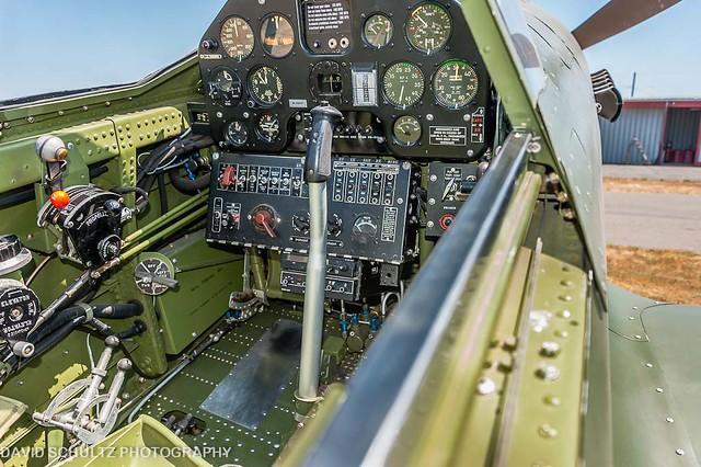 1944 Curtiss Wright P-40M-5 Warhawk (NL540TP) Cockpit ...