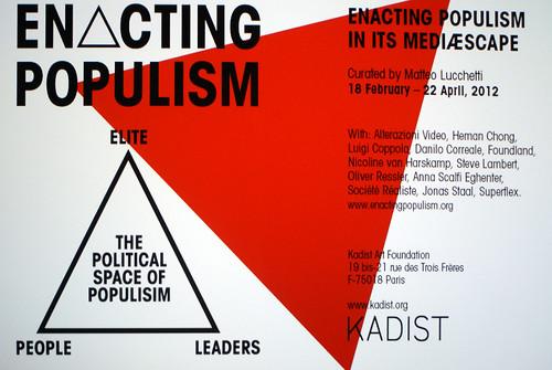 Enacting Populism by Marc Wathieu