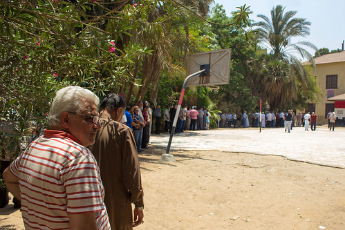 Presidential elections in Egypt, round 2