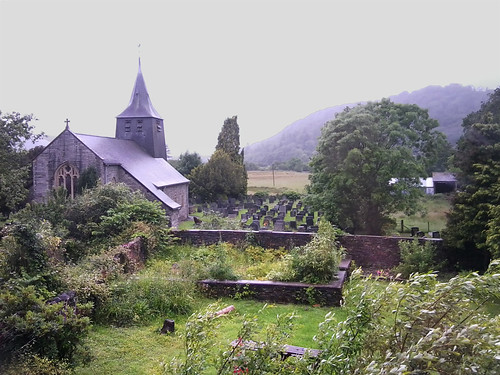 Saint Twrog's church, Maentwrog by Helen in Wales