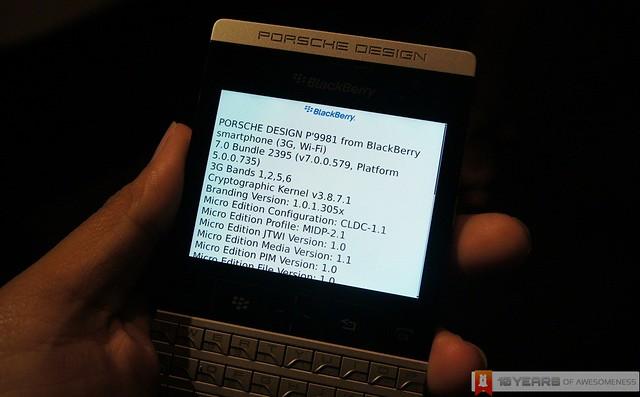 [Preview] Porsche Design P'9981 from BlackBerry