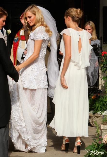 Sólo la novia va de blanco