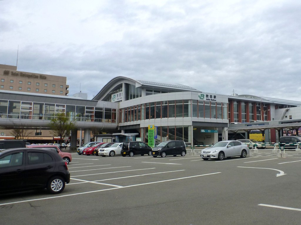 Akita Station, JR