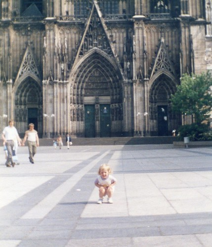 Brittny Flint-2 years old at Cologne, Germany