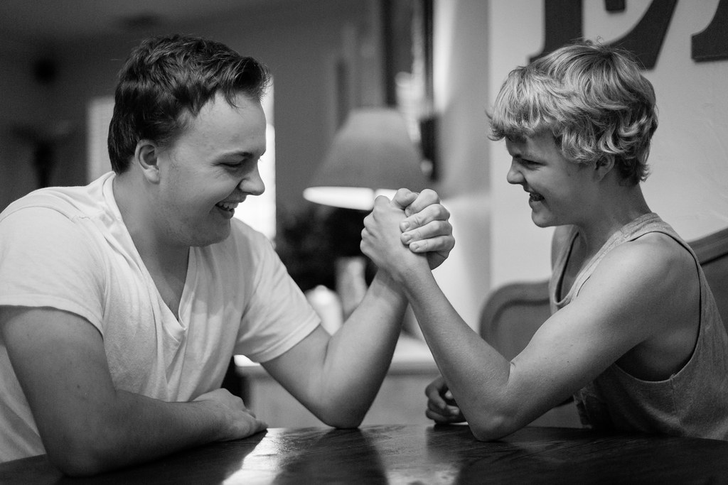 152/365 Time to arm wrestle