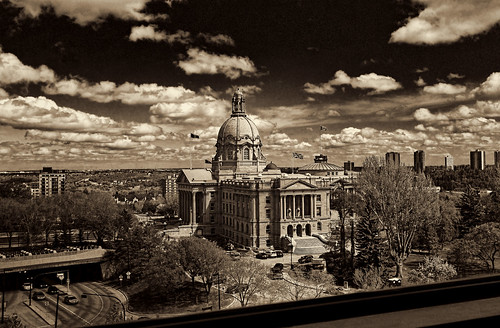 edmonton alberta legislativegrounds albertalegislature dome blackandwhite architecture government pentax 1224mm officeview albertabound cans2s 200favs
