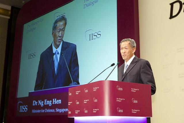 Singapores Defence Minister during IISS 2011. | Flickr - Photo ...
