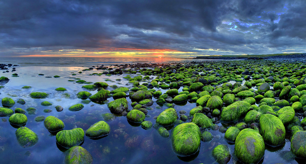 Reykjanes Peninsula, Iceland (HDR composite panorama)