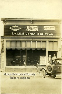 Hazard in the car sales and service, undated