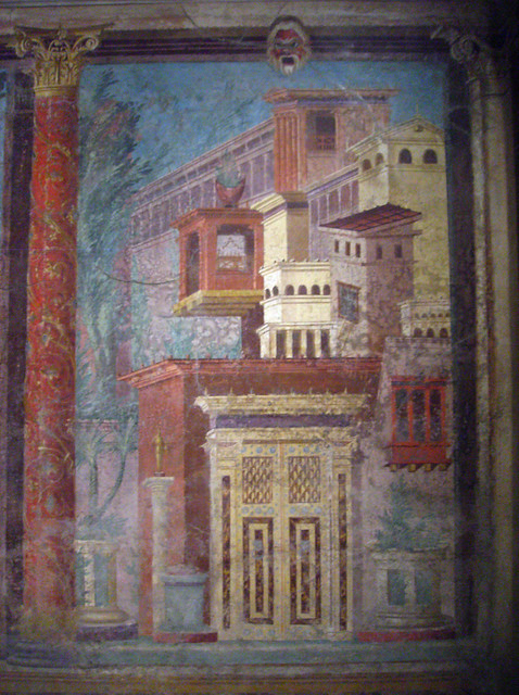 A Roman Wall Painting