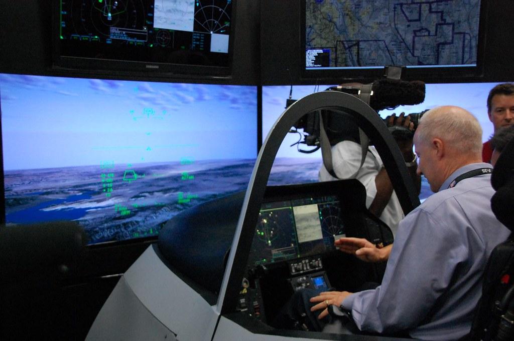 F-35 Flight Simulator | Rep  Coffman tests the F-35 Lightnin