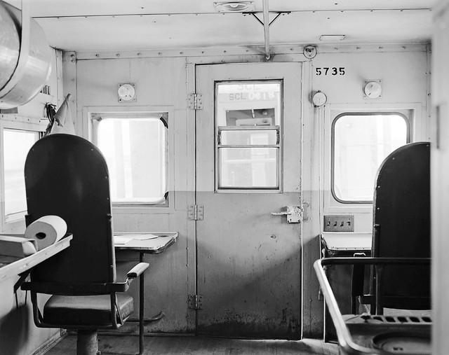 Railroad Caboose Interior http://www.flickr.com/photos/alcomike/5895817502/
