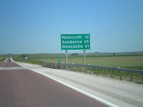 I-90 East - Distance Marker
