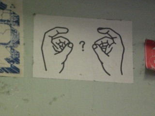 sign language?