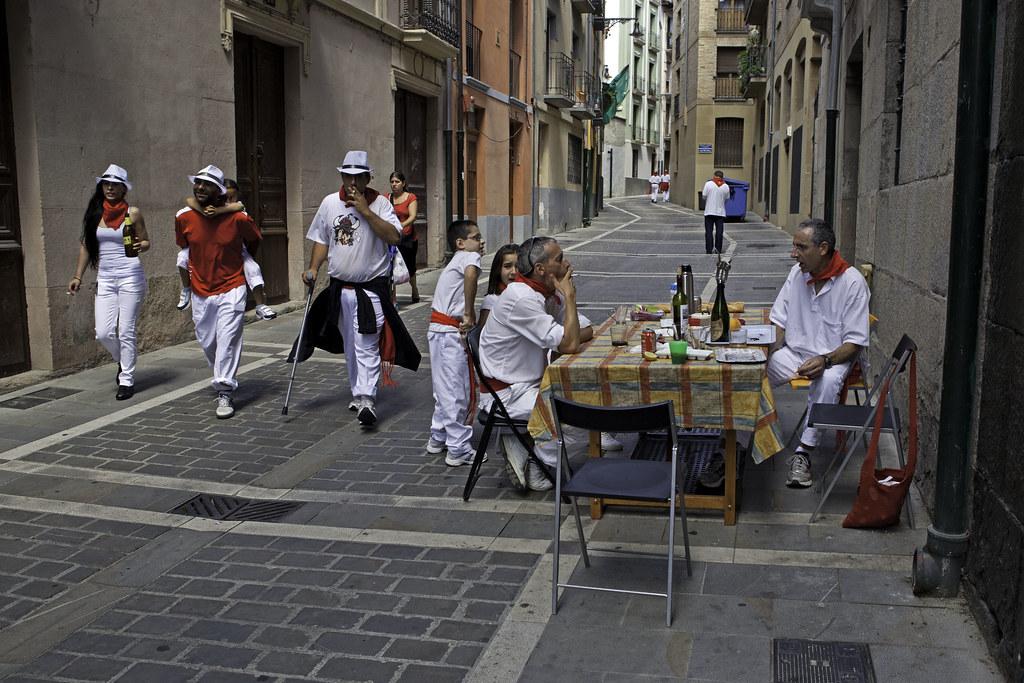 San Fermín Pamplona Locals