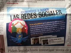 Asomõndose a Oaxaca: Las redes sociales @ Imparcial 07.2011