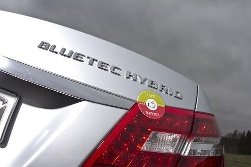 Griin likes MB E300 BlueTEC HYBRID