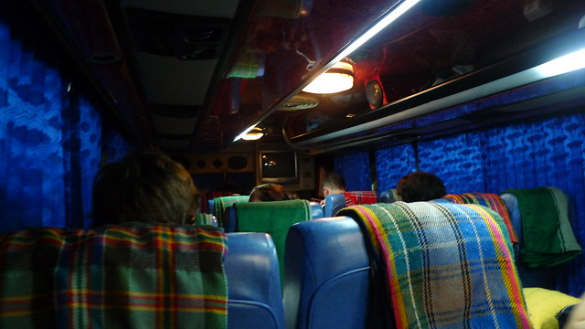 Bus Ride to Chiang Mai