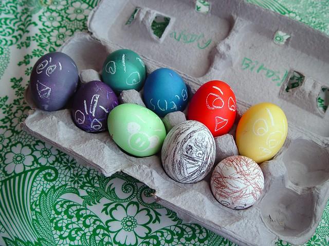 Angry Bird Eggs