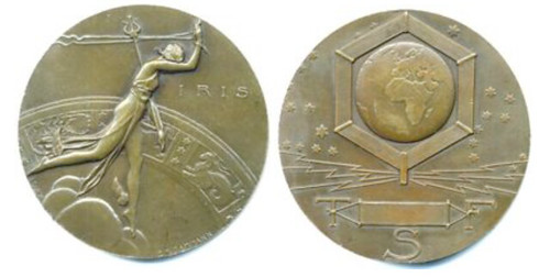 IRIS Wireless Telegraph medal