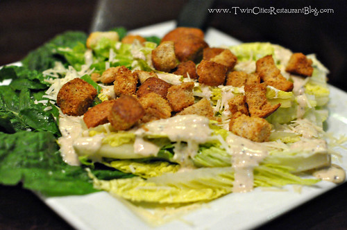 Caesar Salad at Rudys Redeye Grill ~ White Bear Lake, MN