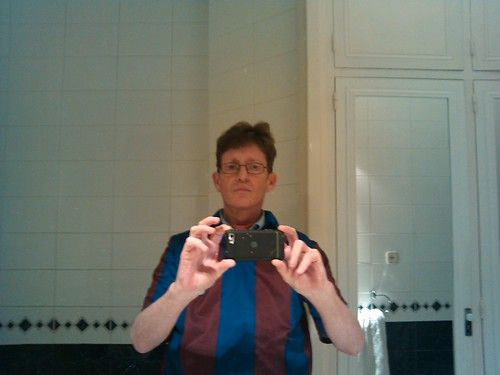 Simon Harris in FCB '92 Shirt by simonharrisbcn
