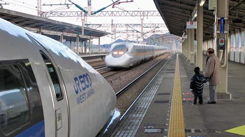 山陽新幹線500系こだま