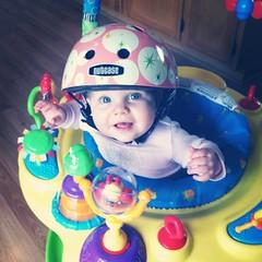 Helmet Babe
