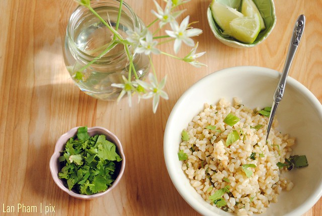 Cilantro + Lime Brown Rice