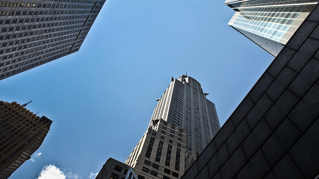 0284 - USA, New York, Looking Up
