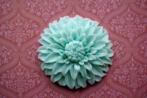 Moulded Dahlia Flower