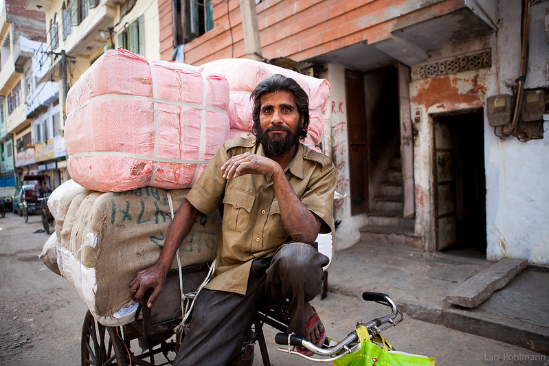 Bicycle Courier in Jaipur