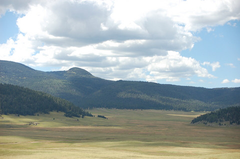 Valles Caldera National Preserve near Los Alamos