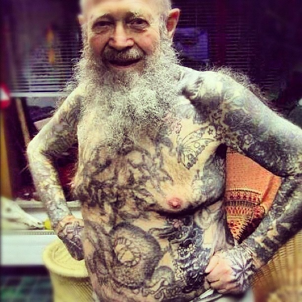 People sat what about when you get old tattoos only for Tattoos when you get old